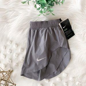 "Nike ""Run Division Hi Cut"" Gray Shorts"